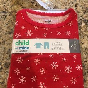 Girls 3T Christmas pajamas set